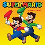 Books : Super Mario™ 2018 Wall Calendar