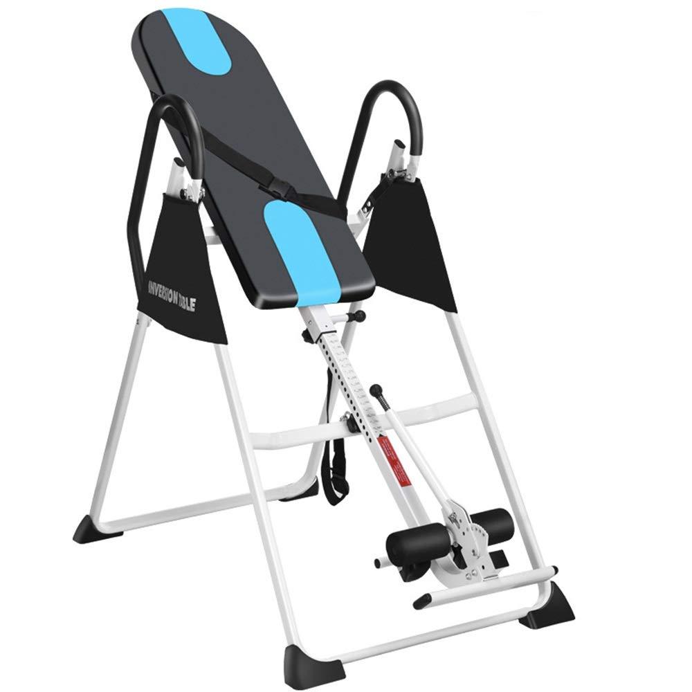 逆さぶら下がり健康器 反転テーブル重力フィットネス調整可能な折りたたみ式テーブル 逆立ち健康法 (色 : ブラック, サイズ : 153*118*76cm) ブラック 153*118*76cm
