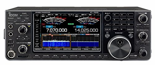Icom IC-7610 HF/50MHz 100W Transceiver – The SDR Everyone Wants