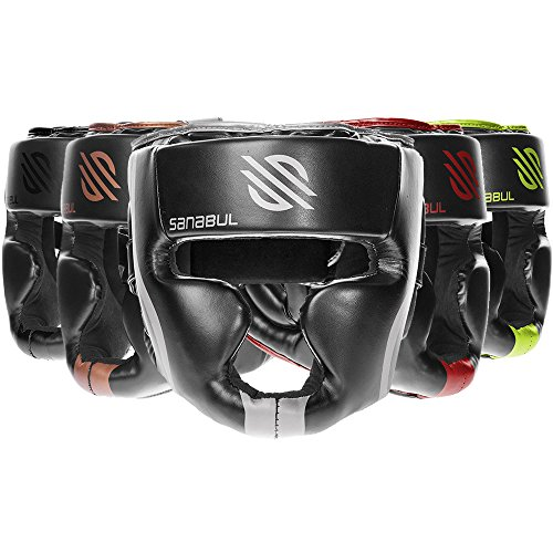Sanabul Essential MMA Boxing Kickboxing Head Gear (SILVER, L/XL)
