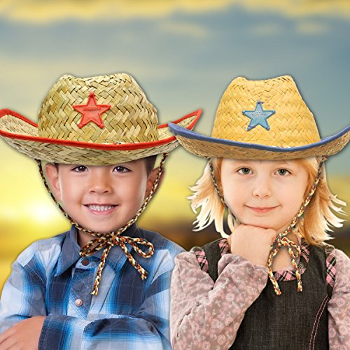 Kid's Cowboy Hats - 12 Pack (Cowboy Outfit Kids)