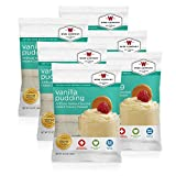 Wise Foods Vanilla Pudding (4 Srv), 6 Count