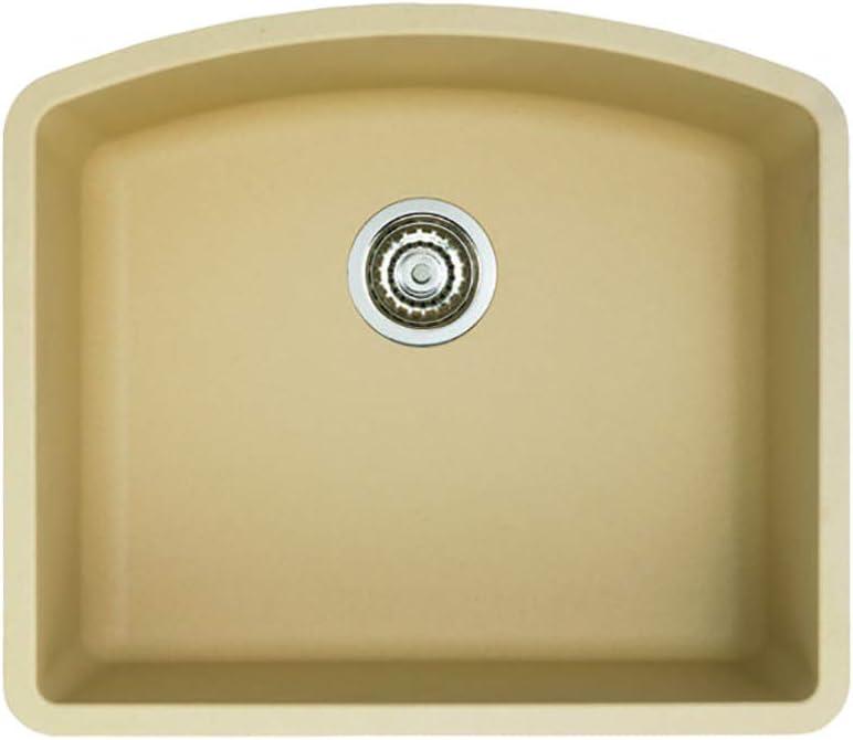Blanco 441220 Diamond Single Bowl-Biscotti Sink, 20.81 x 24.00 x 10.00 inches