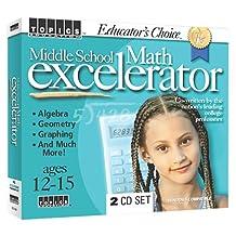 Educator's Choice Middle School Math Excelerator (Jewel Case)