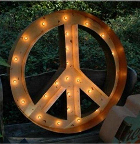 Peace Sign Antique - 3