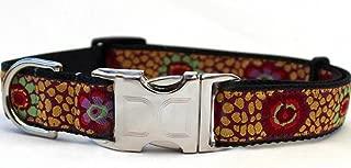 product image for Diva-Dog 'Kaleidoscope' Custom Engraved Dog Collar