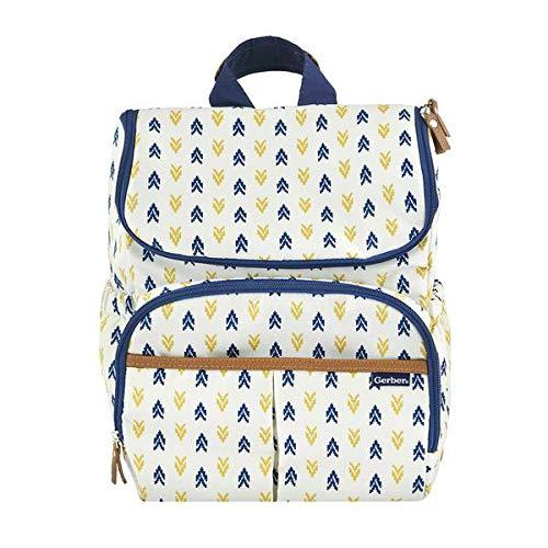 Diaper Bag Backpack in Aztec Print