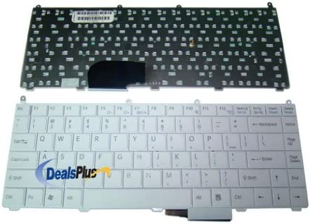For Sony Vaio VGN-FE770G white US Laptop Keyboard
