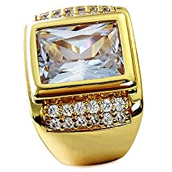 AAA Sapphire 18K Gold Filled Ring