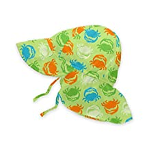 I-Play baby-boys Baby Flap Sun Protection Hat - Bf