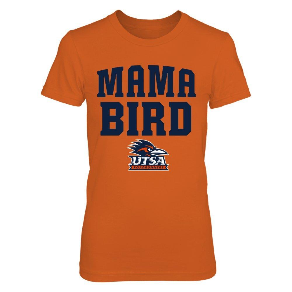 Utsa Roadrunners Tshirt Mama Bird Orange Shirt