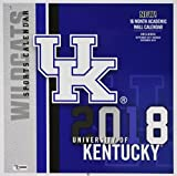 University of Kentucky Wildcats 2018 Calendar