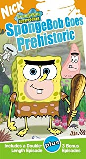 spongebob squarepants spongebob goes prehistoric vhs - Spongebob Christmas Who
