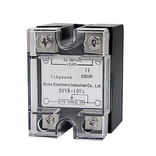 Aexit SSR Solid Control electrical State Relay Voltage Resistance Regulator 10A 25-380V