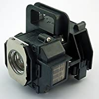 Powerlite Home Cinema 8350 Projector Lamp Replacement. Projector Lamp Assembly with Original Projector Bulb Inside