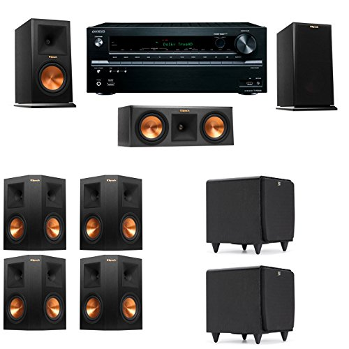 Klipsch RP-150M-E Monitor Speaker 7.2 SDS12 Onkyo TX-NR636