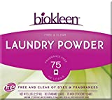Biokleen Laundry Powder, Free & Clear, 5 Pounds (Pack of 8)