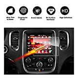 uconnect dodge - 2014-2018 Dodge Durango Uconnect Touch Screen Car Display Navigation Screen Protector, RUIYA HD Clear TEMPERED GLASS Car In-Dash Screen Protective Film (8.4-Inch)