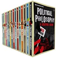 A Graphic Guide Introducing 16 Books Collection Set (Titles in the Set Introducing Logic, Chaos, Lacan, Postmodernism, Quantum Theory, Nietzsche, Critical Theory, Political Philosophy, Freud, Psychology, Philosophy, Capitalism, Marxism, Economics, Jung, Psychoanalysis)