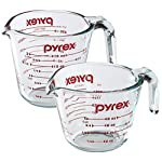 Pyrex Prepware 1-Cup Glass Measuring Cup 8 Food Flavors Or Food Stains Go Directly From Refrigerator Or Freezer To Preheated Oven. Pyrex Glass Is Non-Porous, So It Won't Absorb Food Odors