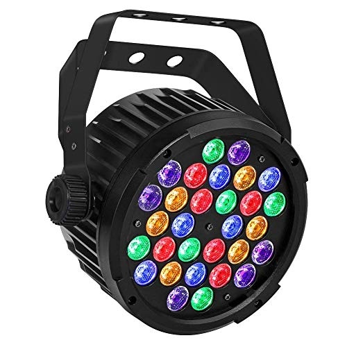 Stage Lights, OPPSK 90W Par Lights with RGBA/UV 30LEDs Par by DMX IR Remote Control Sound Activated for Church Wedding Birthday Party DJ Stage Lighting