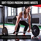 Rip Toned Lifting Wrist Straps (Pair) - Cotton