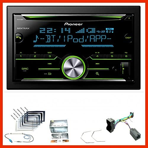 VAUXHALL Astra H Double Din Car Stereo Fascia /& Steering Wheel Kit Anthracite