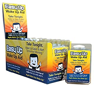 Easy Up® Wake Up Aid - Take Tonight. Wake Up Easier & Alert Tomorrow Morning - 36 Night Supply (B0081UVHPI) | Amazon price tracker / tracking, Amazon price history charts, Amazon price watches, Amazon price drop alerts