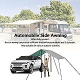 Slan Arrow Versatility Car Awning, Camping Car Tail