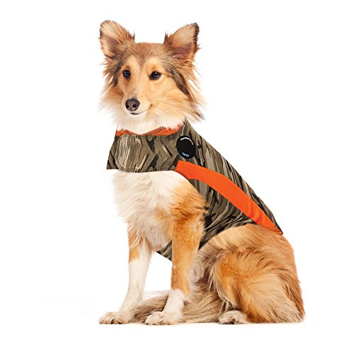 ThunderShirt Polo Dog Anxiety Jacket, Camo, Large