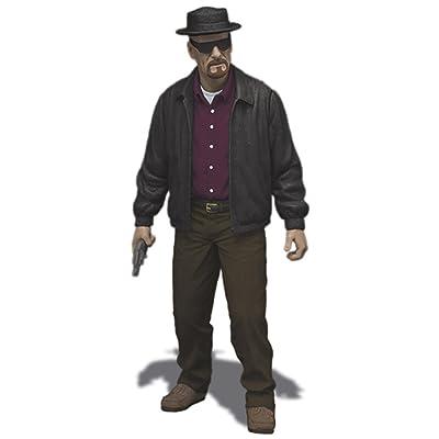 "Mezco Toyz Breaking Bad Heisenberg Walter 6"" Action Figure: Toys & Games"