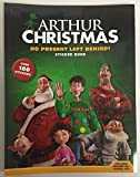 3 pack Arthur Christmas No Present Left Behind Sticker Books 100 stickers New
