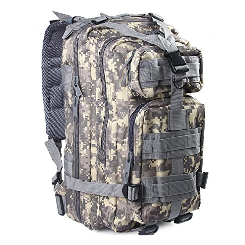(Kenny Walker Tactical Camo Backpack 40L Outdoor Military Assault Molle Swordfish Rucksack Waterproof Nylon for Men and Women Camping Hiking Trekking)