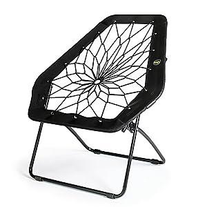 Bunjo bungee chair hex black kitchen dining for Bunjo chair