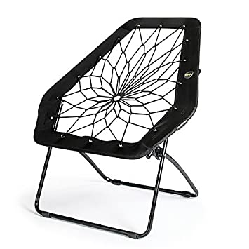 Genial Bunjo Bungee Chair Hex, Black