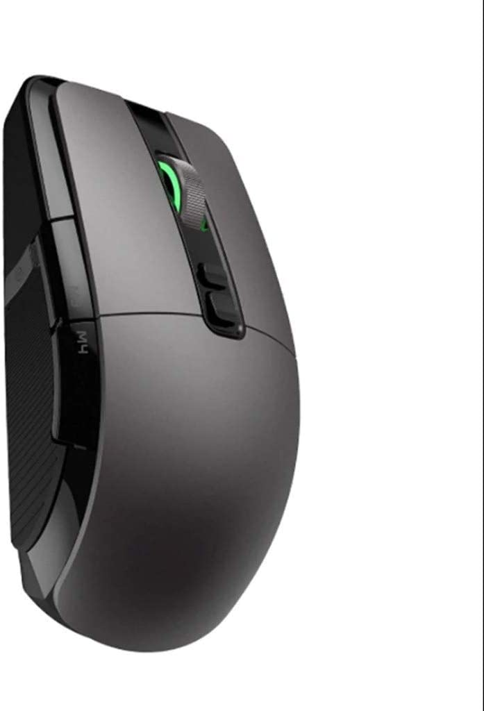 LIULU Gaming Mouse Wireless Cable Computer Notebook Gaming Mouse 5 File Adjustable 4 Kinds of Lighting Mode RGB Colorful