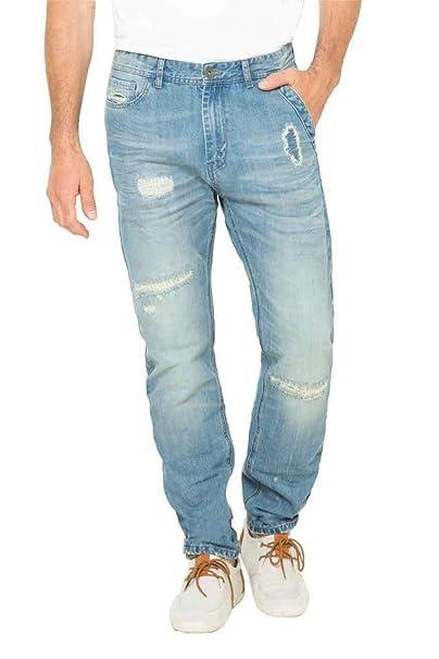 9a08d0424 Desigual Pantalon para Hombre Talla 36  Amazon.es  Ropa y accesorios