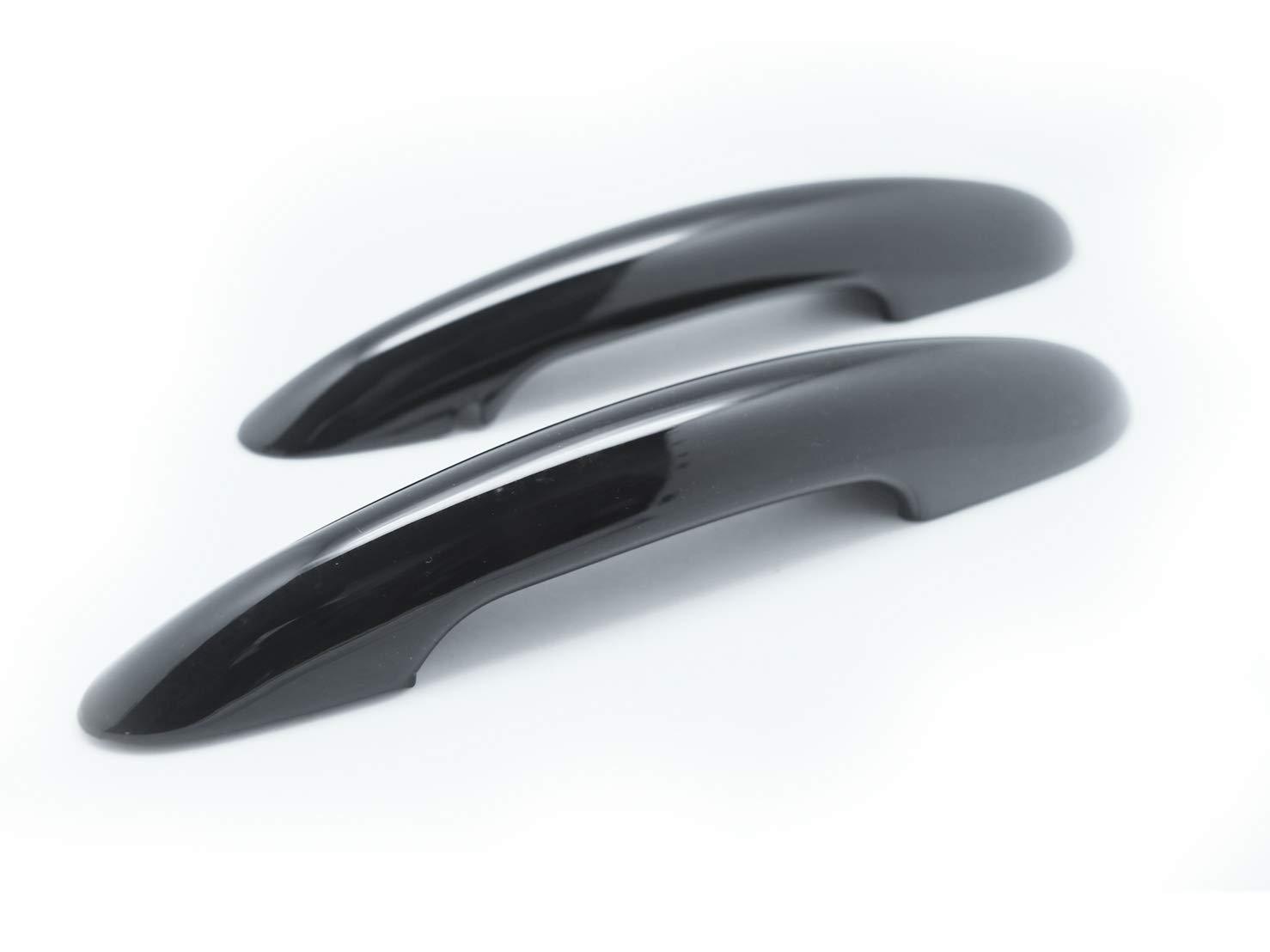 BLACK GLOSSY DOOR HANDLE COVER Fits F54 F55 F56 F58 F59 2 CarLab