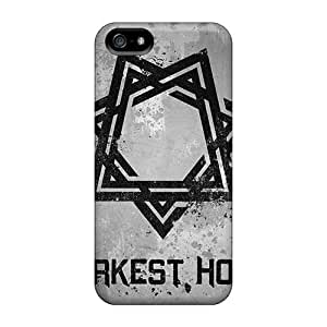 Iphone 5/5s UXH11503hfXU Unique Design HD Papa Roach Pattern Protector Hard Phone Cover -DannyLCHEUNG