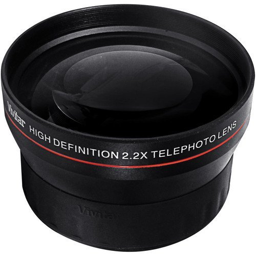 BiG DIGITAL 2.2X Telephoto Conversion Lens for Nikon 3000, D3100, D3200, D3300, D5000, D5100, D5200, D5300, D7000, D7100, DF, D3, D3S, D3X, D4, D40, D40x, D50, D60, D70, D70s, D80, D90, D100, D200, D300, D600, D610, D700, D750, D800, D800E, D810, Digital SLR Cameras with a 18-55mm, 55-200mm, 24mm f/2.8D, 28mm f/2.8D, 35mm f/1.8G, 35mm f/2.0D, 40mm f/2.8G, 50mm f/1.4D, 50mm f/1.8D & 85mm f/3.5G Lens