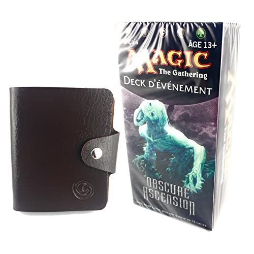 MTG Carte Magic Deck EVENEMENT en français OBSCURE ASCENSION FIN TOURBILLONNANTE avec 1 porte-cartes Universel Lagiwa® offert