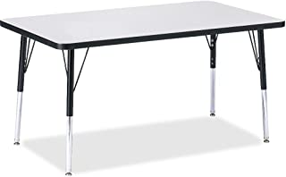 product image for Jonti-Craft Ridgeline Kydz Rectangular Activity Table (30 in. W x 48 in. D x 24 in. - 31 in. H. - Gray)