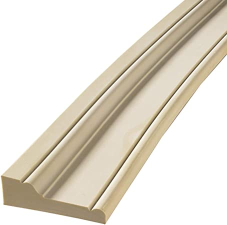 Flexible Casing Molding FLEXTRIM #RB3 PRE Curved to fit Specific Half Round Arches 42 to 56 Diameter 1-1//16 Thick x 3.5 Wide