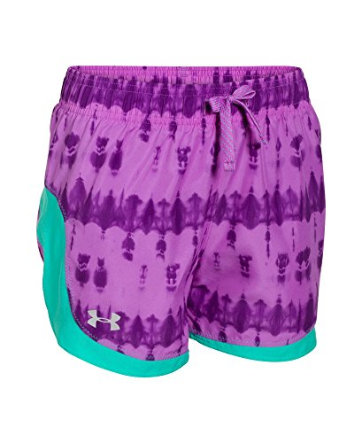 Under Armour Girls' UA Stunner Novelty Shorts XL (18-20 Big Kids) EXOTIC BLOOM by Under Armour