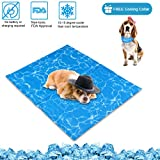 N&R Dog Cooling Mat/Pad/Bed - Cool Gel Technology - Help Your Pet Stay
