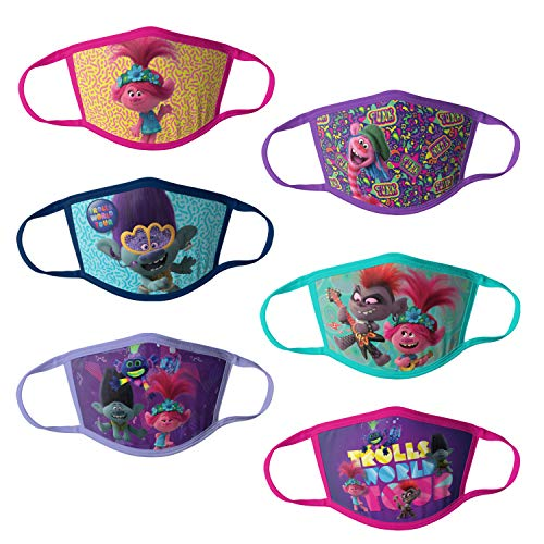 Universal Trolls Reusable Kids Mask Multipack, 1 Count (Pack of 1)