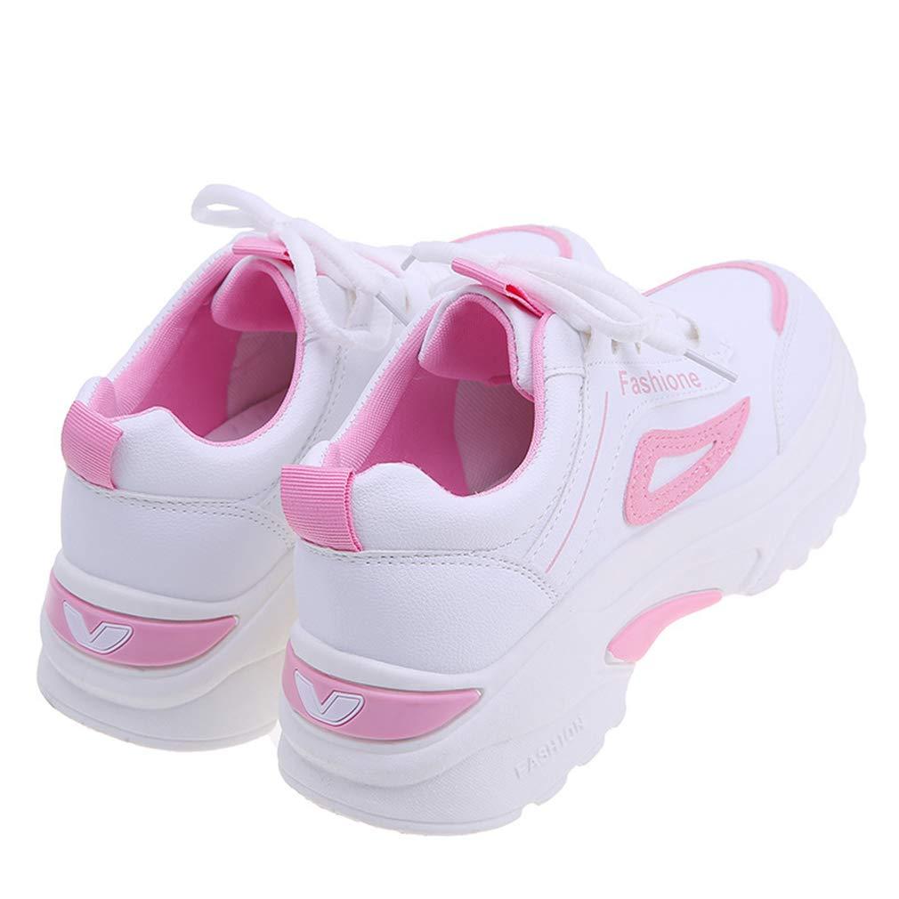 YAN Damensportschuhe Neue Frühlings-Turnschuhe Fashion Platform Schuhe Non-Slip Running Running Running schuhe Athletic Schuhe Training Schuhe rot schwarz Rosa C 35 b45e5c