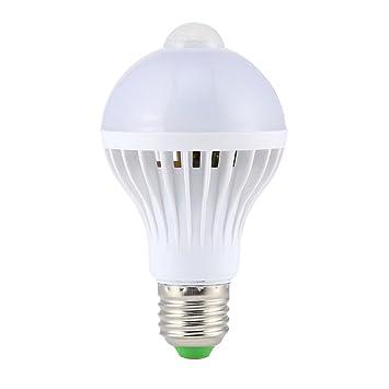 perfk Bombilla de Lámpara Sensor de Movimiento Complimentos Decorativo de Iluminación Elegante: Amazon.es: Hogar