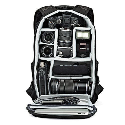 Lowepro Pro Tactic BP 250 AW. Backpack and Daypack for Mirrorless Camera and DJI Spark Drone.
