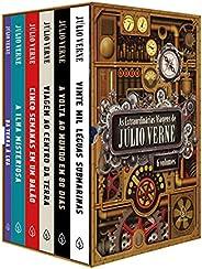 As extraordinárias viagens de Júlio Verne - Box com 6 títulos